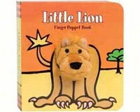 Little Lion Finger Puppet Book-CB9780811867887