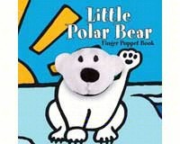 Little Polar Bear Finger Puppet Book-CB9780811869744