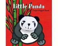 Little Panda Finger Puppet Book-CB9780811869997