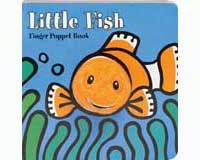 Little Fish Finger Puppet Book-CB9780811873444