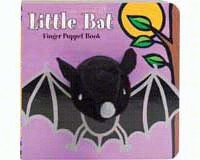 Little Bat Finger Puppet Book-CB9780811875141