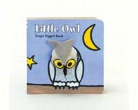 Little Owl Finger Puppet Book-CB9781452102214