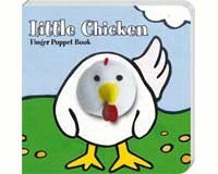 Little Chicken Finger Puppet Book-CB9781452108117