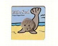 Little Seal Finger Puppet Book-CB9781452108124