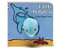 Little Dolphin Finger Puppet Book-CB9781452108162