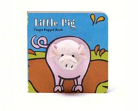 Little Pig Finger Puppet Book-CB9781452108179