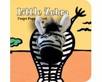 Little Zebra Finger Puppet Boo-CB9781452112527
