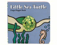 Little Sea Turtle Finger Puppet-CB9781452129136