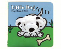 Little Dog Finger Puppet Book-CB9781452129150