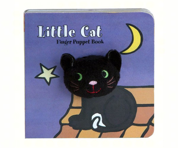 Little Black Cat Finger Puppet Book