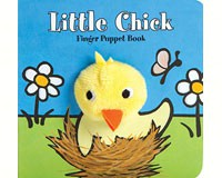 Little Chick Finger Puppet Book-CB9781452129174