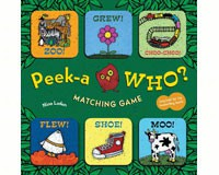 Peek-a-Who Matching Game-CB9781452133591