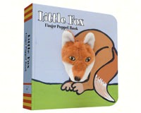 Little Fox Finger Puppet Book-CB9781452142302