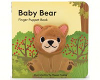 Baby Bear Finger Puppet Book-CB9781452142357