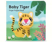 Baby Tiger Finger Puppet Book-CB9781452142364