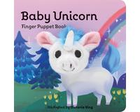 Baby Unicorn Finger Puppet Book-CB978145217076