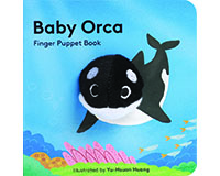 Baby Orca Finger Puppet Book-CB9781452170794