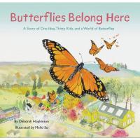 Butterflies Belong Here Book-CB9781452176802