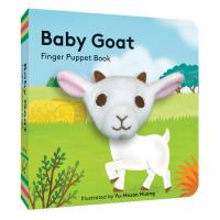 Baby Goat Finger Puppet Book-CB9781452181714