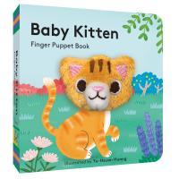 Baby Kitten Finger Puppet-CB9781452181721