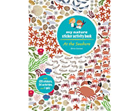 At the Seashore My Nature Sticker Activity Book by Olivia Cosneau-CB9781616894610