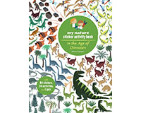 Dinosaurs My Nature Sticker Activity Book by Olivia Cosneau-CB9781616894696