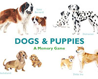Dogs & Puppies Memory Game-CB9781786272744