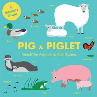 Pig and Piglet Matching Game-CB9781786273642