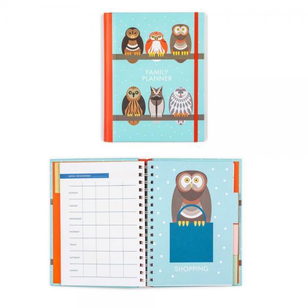 Owls Family Planner