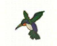 Large Hummingbird Door Screen Saver-CC52070