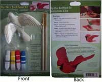 Cardinal Fly Thru Bird Paint Kit-CC52076