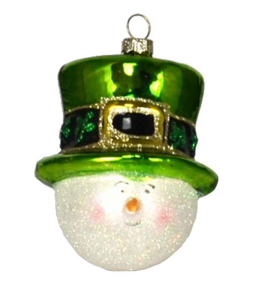 Irish Snowman Ornament (COBANEA132)