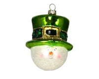 Irish Snowman Ornament-COBANEA132