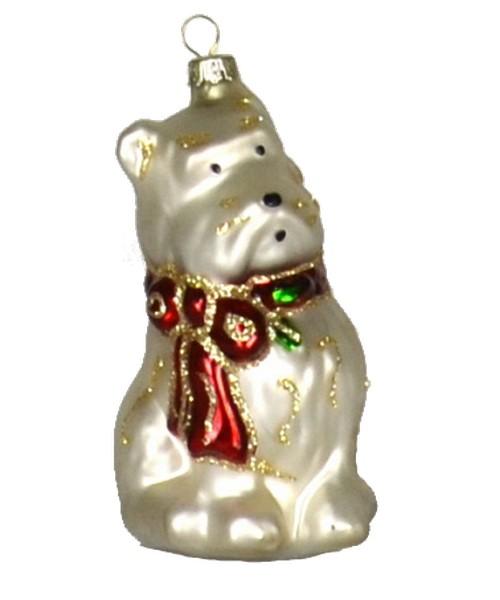 Holly Berry Westie Ornament (COBANEA239)