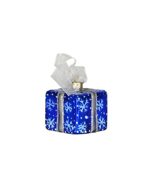 Xmas Surprise Sq Snowflakes Ornament (COBANEA284)