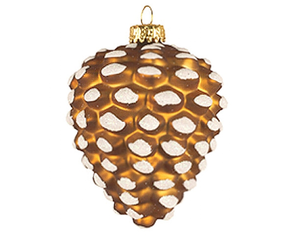 Brown Pinecone Ornament (COBANEA386)