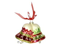 Merry Bells Red and Green Ornament COBANEB211