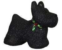Holly Berry Scotty Ornament-COBANEB230