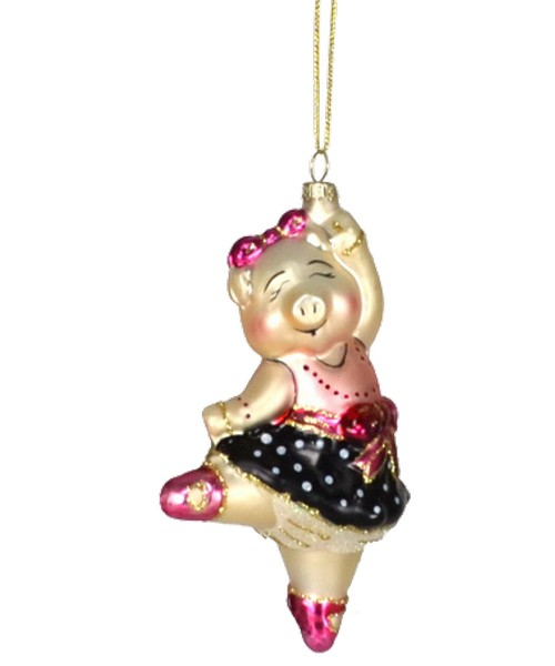 Dancing Piggy Ornament (COBANEB243)