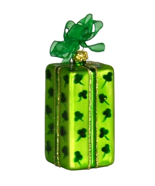 Xmas Surprise TL Shamrocks Ornament (COBANEB277)