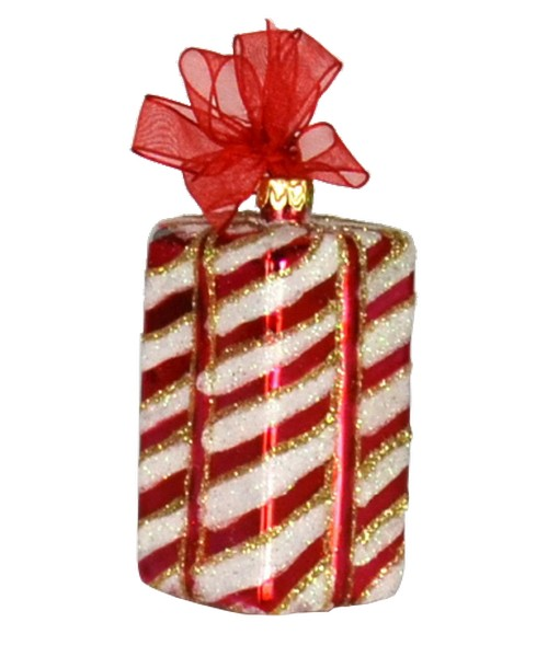 Xmas Surprise TL Stripes Ornament (COBANEB278)