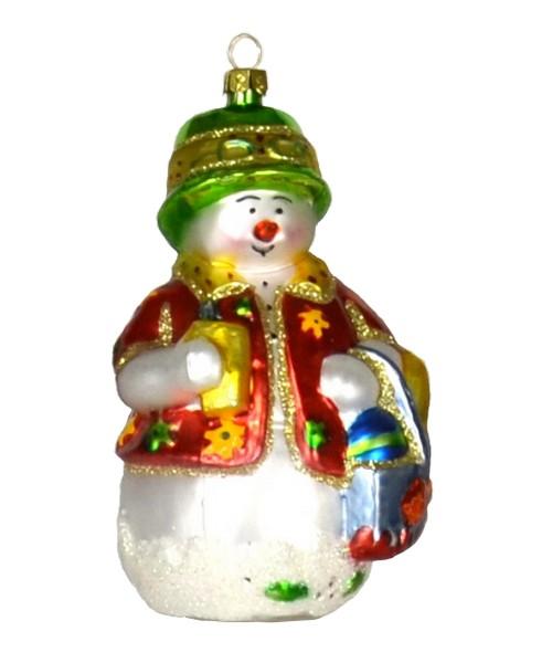Beachy Snow Guy Ornament (COBANEC240)
