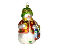 Beachy Snow Guy Ornament-COBANEC240