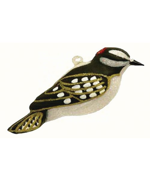 Downy Woodpecker Ornament COBANEC345