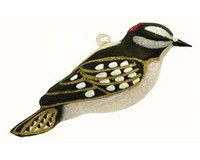 Downy Woodpecker Ornament COBANEC345'
