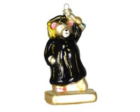 Graduation Bear Ornament COBANEC367