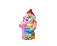 Coastal Claus Ornament COBANEC371