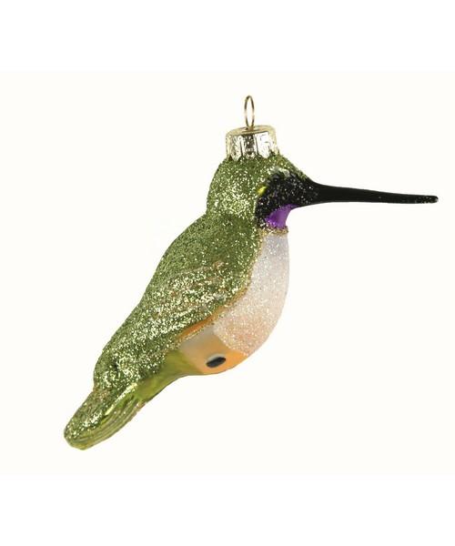 Black Chinned Hummingbird Ornament (COBANEC373)