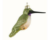 Black Chinned Hummingbird Ornament-COBANEC373