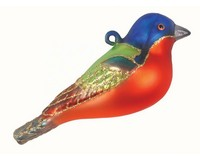 Painted Bunting Ornament COBANEC382